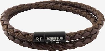 Tateossian London Armband 'Chelsea' in braun / schwarz, Produktansicht