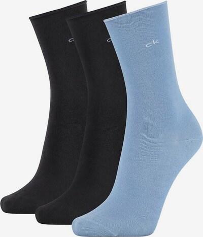 Calvin Klein Underwear Socken in nachtblau / hellblau / schwarz, Produktansicht