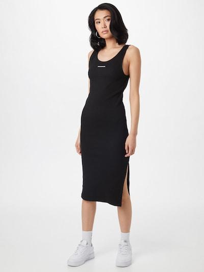 Calvin Klein Jeans Robe en noir / blanc: Vue de face