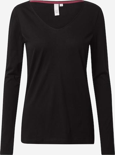 Q/S designed by Shirt in schwarz, Produktansicht