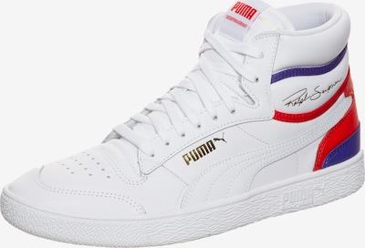 PUMA Ralph Sampson Mid Sneaker in blau / rot / weiß, Produktansicht