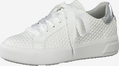 TAMARIS Sneaker in silber / offwhite, Produktansicht