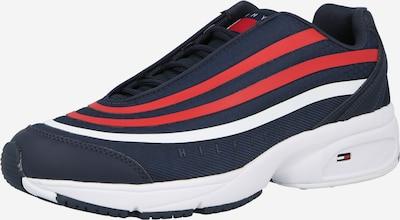 Tommy Jeans Sneaker in dunkelblau / feuerrot / weiß, Produktansicht