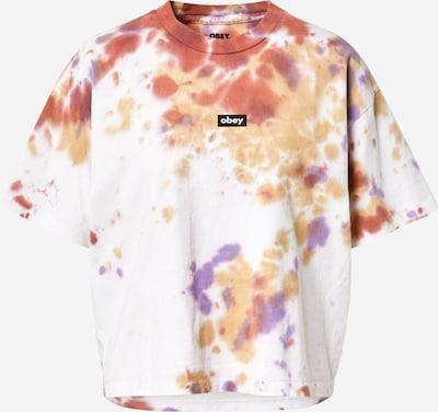 Maglietta Obey di colore rame / senape / lilla / bianco, Visualizzazione prodotti