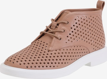 Ekonika Lace-Up Shoes in Beige