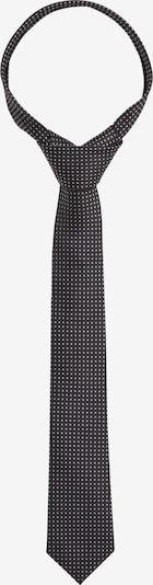 s.Oliver Krawatte aus Jacquard in schwarz, Produktansicht