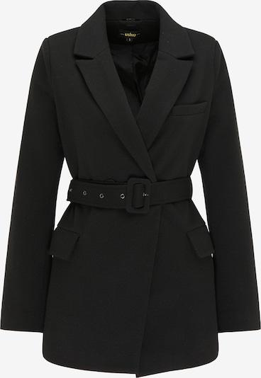 Palton de primăvară-toamnă usha BLACK LABEL pe negru, Vizualizare produs