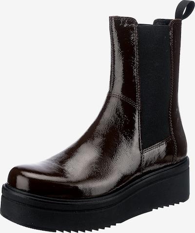VAGABOND SHOEMAKERS Chelsea Boots 'Tara' in dunkelbraun / schwarz, Produktansicht