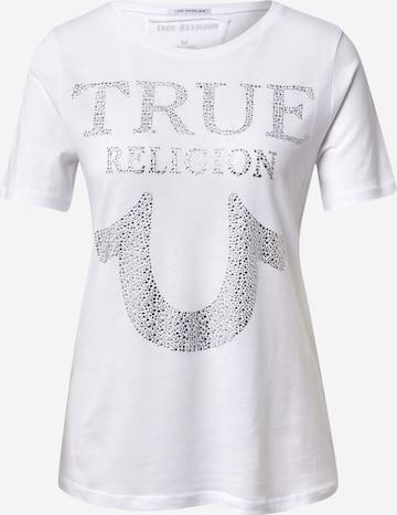 True Religion - Camiseta en blanco