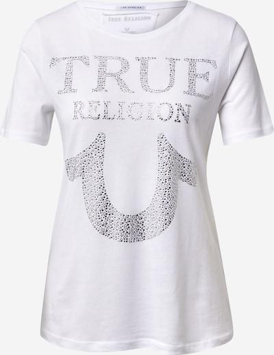 True Religion T-shirt en argent / blanc, Vue avec produit