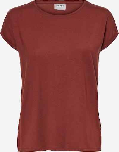 VERO MODA T-shirt i roströd, Produktvy
