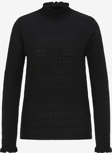 faina Strickpullover in schwarz, Produktansicht