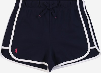 POLO RALPH LAUREN Shorts in navy / weiß, Produktansicht