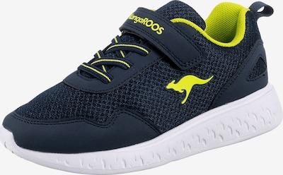 KangaROOS Sneaker in blau / neongrün / schwarz, Produktansicht