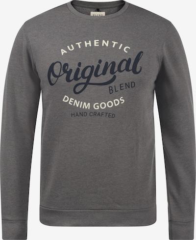 BLEND Sweatshirt 'Thomas' in grau, Produktansicht