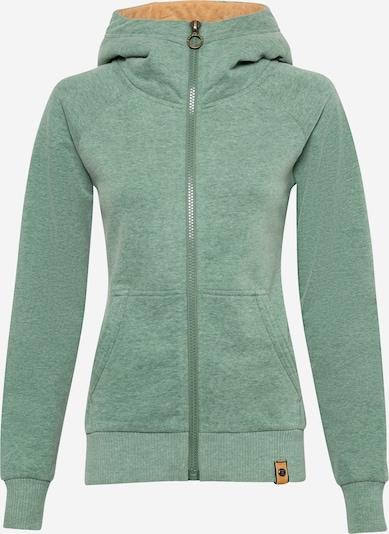 Fli Papigu Sweat jacket 'SEX' in mottled green, Item view
