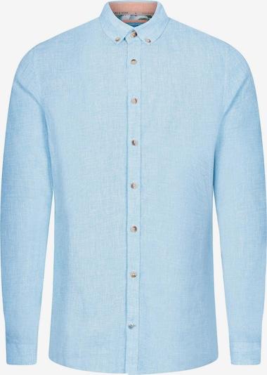 COLOURS & SONS Leinenhemd 'Larry' in blau, Produktansicht