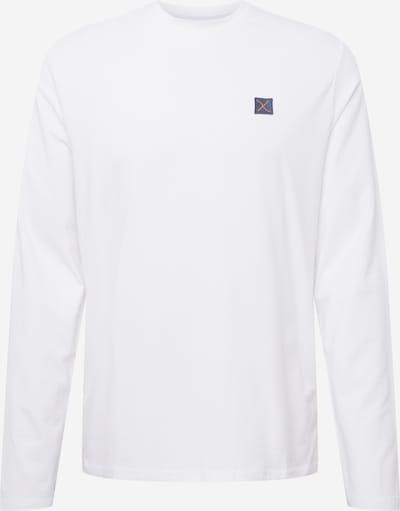 Tricou Clean Cut Copenhagen pe albastru marin / galben muștar / alb, Vizualizare produs