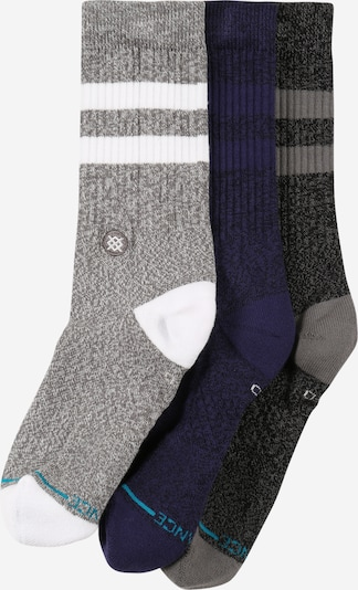 Stance Sportsocken 'THE JOVEN' in dunkelblau / grau / dunkelgrau / weiß, Produktansicht
