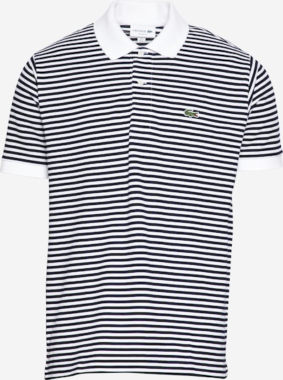 LACOSTE T-Krekls tumši zils / balts, Preces skats