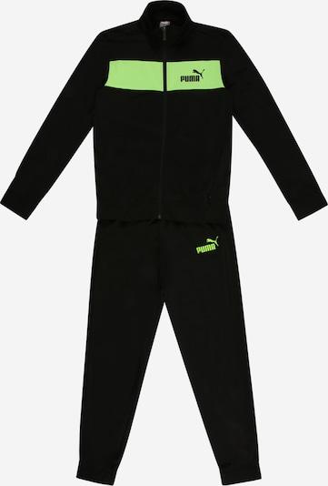 PUMA Survêtement en kiwi / noir, Vue avec produit