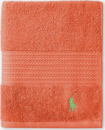 Ralph Lauren Badetuch Polo Player in orange, Produktansicht