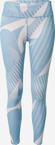 Pantaloni sport 'Fast' de la NIKE pe albastru