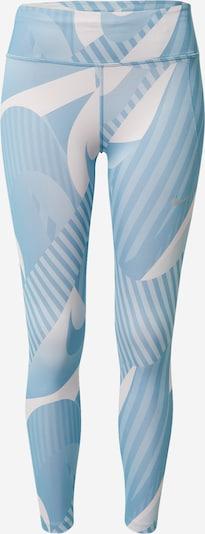 NIKE Športové nohavice 'Fast' - modrá / sivá, Produkt