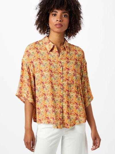 24COLOURS Bluse i blandingsfarvet, Modelvisning