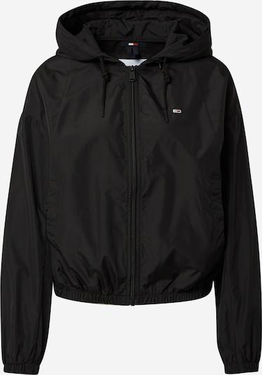 Tommy Jeans Jacke 'Yoke' in schwarz / weiß, Produktansicht