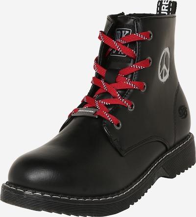 Dockers by Gerli Boots in schwarz / weiß, Produktansicht
