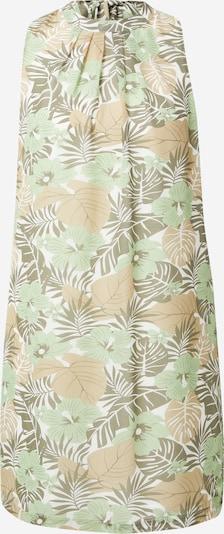 ZABAIONE Summer Dress 'Flara' in Light brown / Grey / Mint / White, Item view