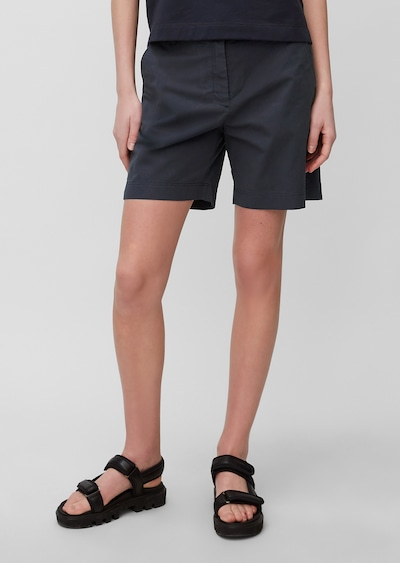 Marc O'Polo Shorts in dunkelblau, Modelansicht