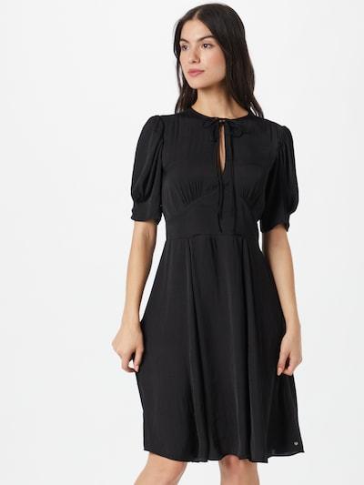 SCOTCH & SODA Kleid 'Drapey' in schwarz, Modelansicht