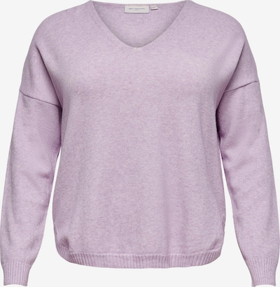ONLY Carmakoma Pull-over 'Margareta' en violet pastel, Vue avec produit