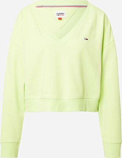 Tommy Jeans Sweat-shirt en roseau, Vue avec produit