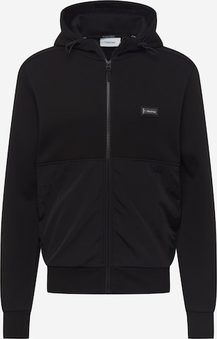 Calvin Klein Sweatjakke i svart