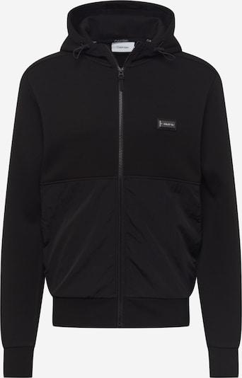 Calvin Klein Sweatjacke in schwarz, Produktansicht