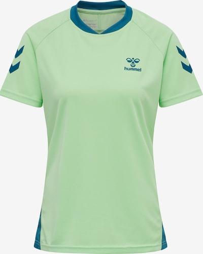 Hummel Functioneel shirt in de kleur Blauw / Pastelgroen, Productweergave