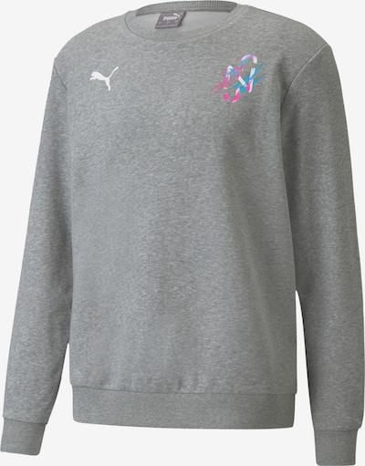 Felpa sportiva PUMA di colore blu ciano / grigio sfumato / rosa / bianco, Visualizzazione prodotti