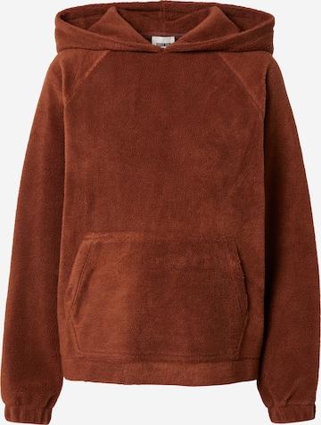 Sweat-shirt 'Jasmin' ABOUT YOU x Laura Giurcanu en marron