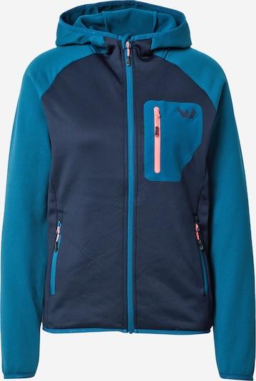 Whistler Bluza polarowa funkcyjna 'Tora' w kolorze niebieski / granatowy / łososiowym, Podgląd produktu