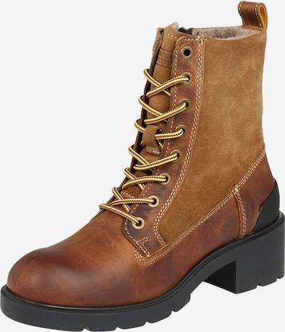 CAMEL ACTIVE Lace-up bootie 'Leaf' in Brown, Item view