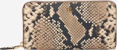 Lauren Ralph Lauren Geldbörse in beige / schwarz, Produktansicht
