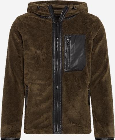 Jachetă  fleece 'Morris' Herrlicher pe oliv, Vizualizare produs