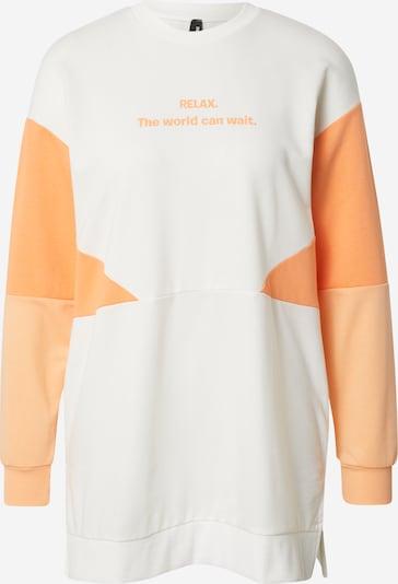 DeFacto Sweatshirt in orange / weiß, Produktansicht