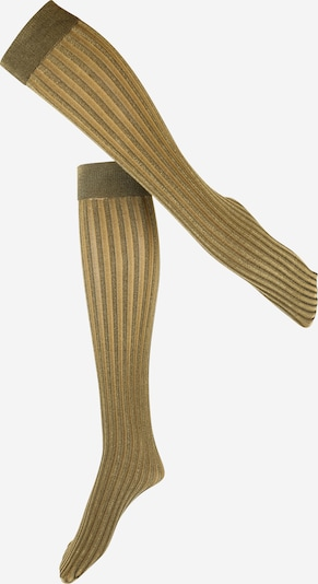 Swedish Stockings Kniestrümpfe 'HIlda' in gold, Produktansicht