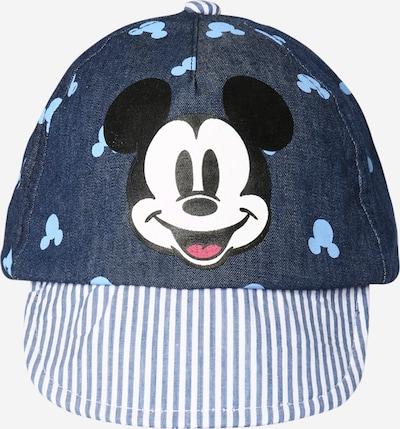 OVS Cap in blue denim / hellblau / schwarz / weiß, Produktansicht
