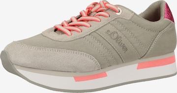 s.Oliver Sneakers in Beige