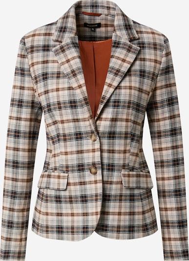 MORE & MORE Blazer in creme / chamois / dunkelbraun / rauchgrau / schwarz, Produktansicht